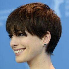 Hathaway chopped off her licks fir the film Interstellar
