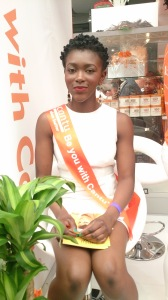 Cantu shea butter were on hand to advise on products