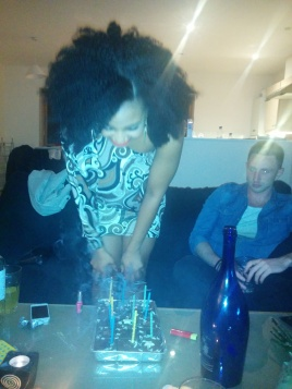Blew my candles out! ;-)